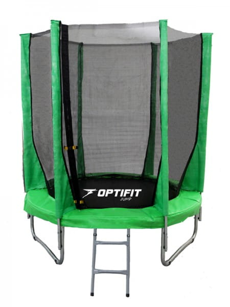Батут Optifit 8FT-Jump-Green Jump 8FT - зеленый (8 футов)