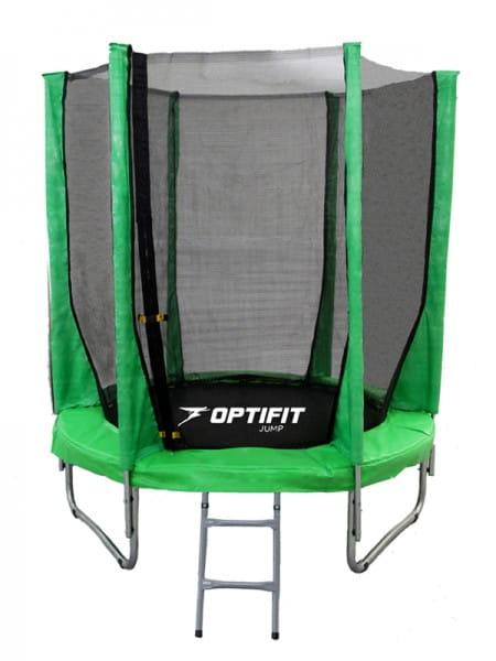 Батут Optifit Jump 8FT - зеленый (8 футов)
