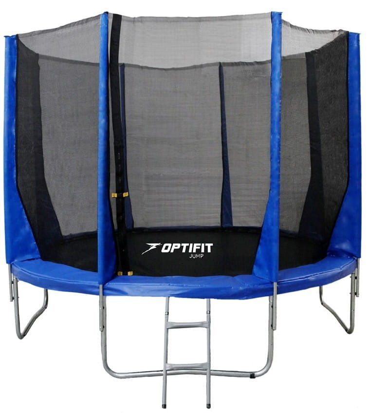 Батут Optifit 10FT-Jump-Blue Jump 10FT - синий (10 футов)
