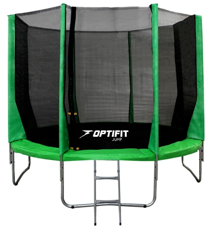 Батут Optifit 10FT-Jump-Green Jump 10FT - зеленый (10 футов)