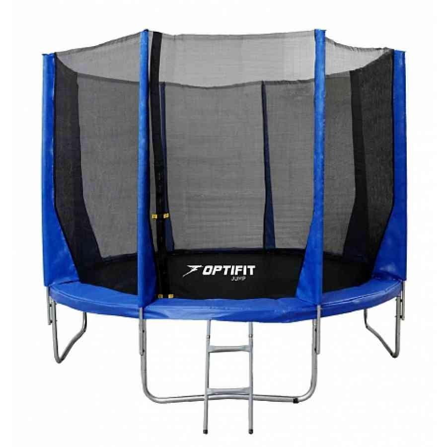 Батут Optifit 12FT-Jump-Blue Jump 12FT - синий (12 футов)