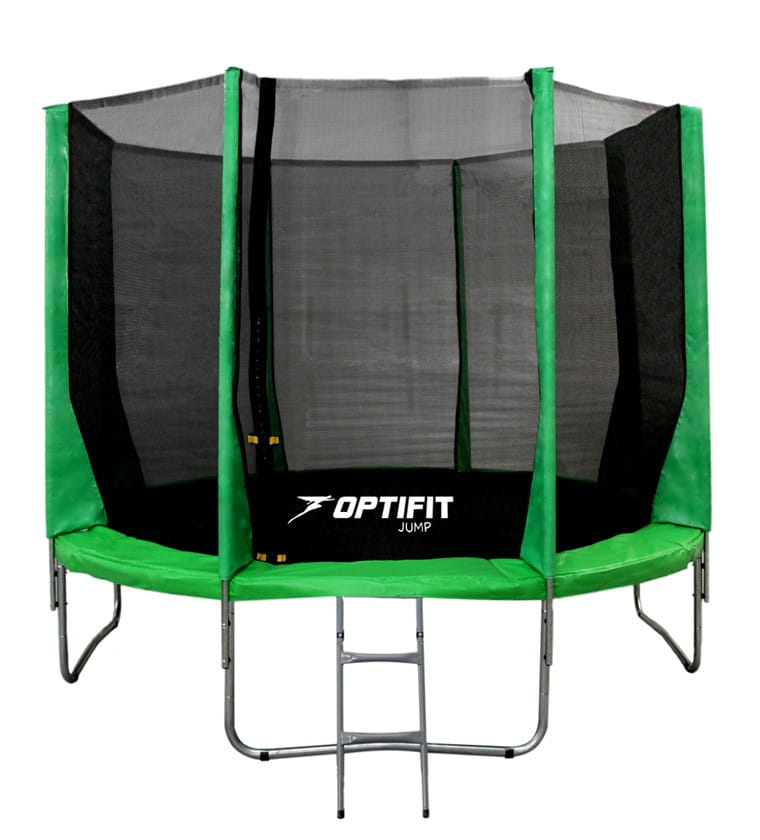 Батут Optifit 12FT-Jump-Green Jump 12FT - зеленый (12 футов)