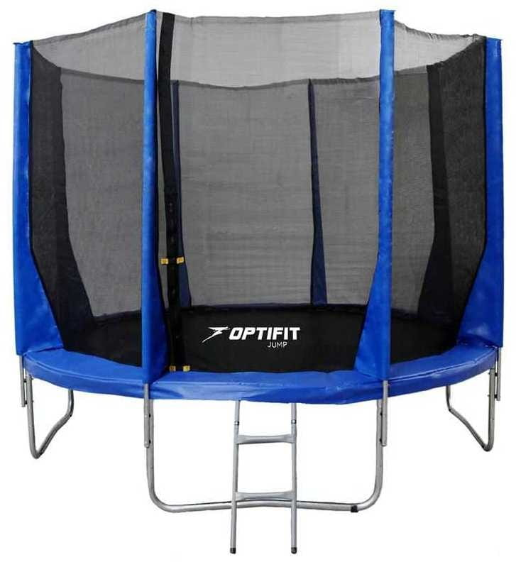 Батут OPTIFIT Jump 14FT - синий (14 футов)