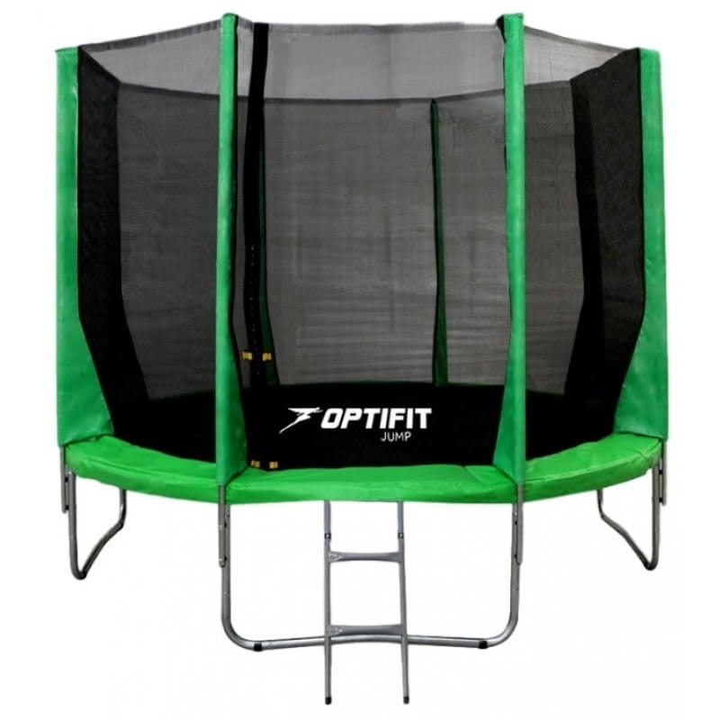 Батут Optifit 14FT-Jump-Green Jump 14FT - зеленый (14 футов)