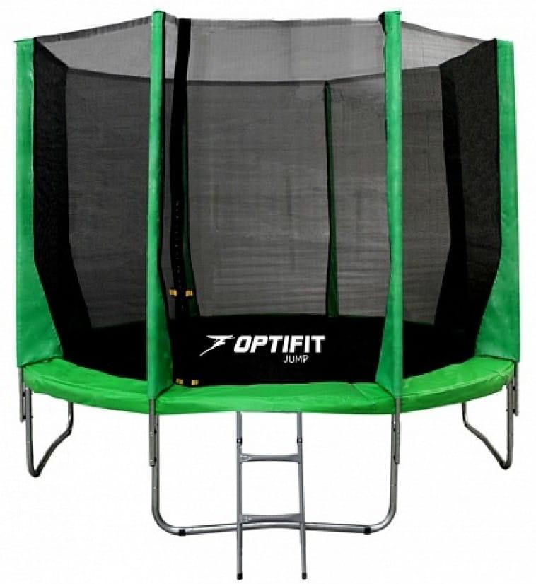 Батут OPTIFIT Jump 16FT - зеленый (16 футов)