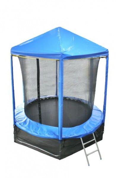 Купить Батут Optifit Like Blue 6FT с синей крышей - 6 футов в интернет магазине игрушек и детских товаров