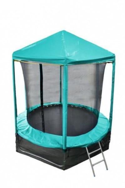 Купить Батут Optifit Like Green 6FT с зеленой крышей - 6 футов в интернет магазине игрушек и детских товаров