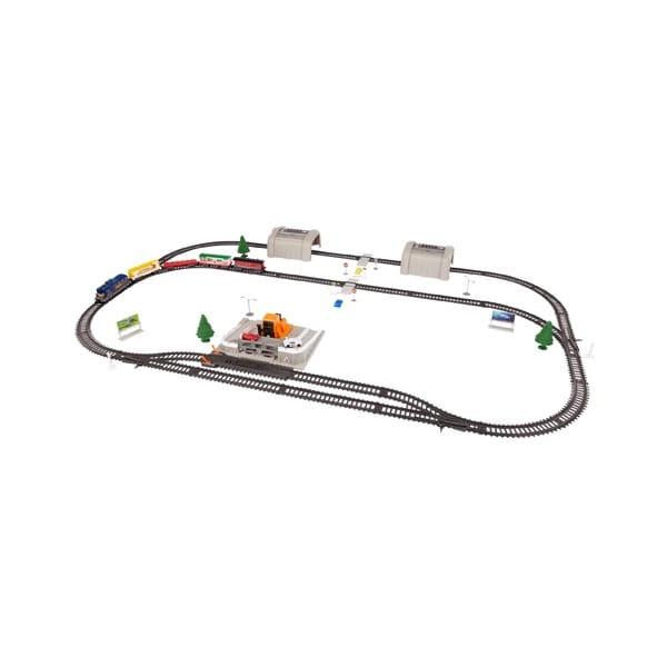 Купить Набор делюкс с автопогрузчиком, туннелем и аксессуарами Power Trains в интернет магазине игрушек и детских товаров