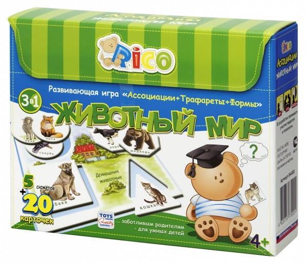 Купить Развивающая игра Rico Животный мир в интернет магазине игрушек и детских товаров