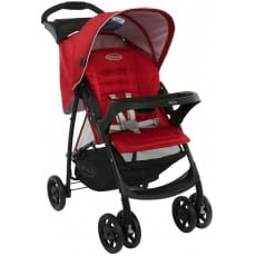 Фото Коляска прогулочная Graco Mirage W Parent tray and boot - Chilli
