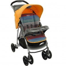 Фото Коляска прогулочная Graco Mirage W Parent tray and boot - Jaffa stripe