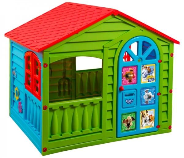 Купить Игровой домик PalPlay Белка-Стрелка (Marian Plast) в интернет магазине игрушек и детских товаров