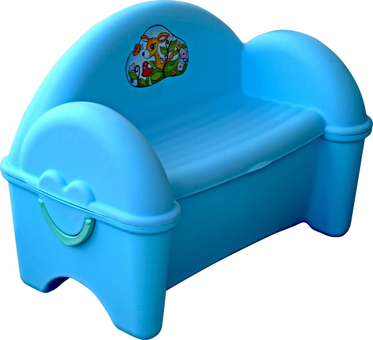 Купить Диван PalPlay с ящиком (Marian Plast) в интернет магазине игрушек и детских товаров