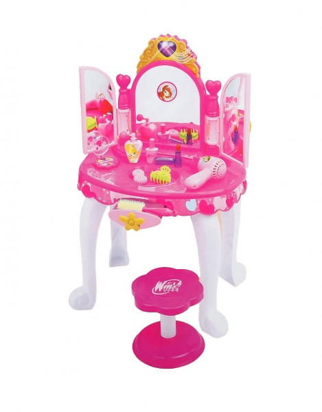 Купить Студия красоты со стульчиком Winx (со звуковыми и световыми эффектами) в интернет магазине игрушек и детских товаров