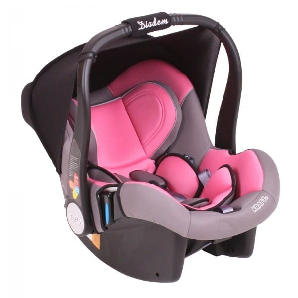 Автокресло Baby Care Diadem - розовое