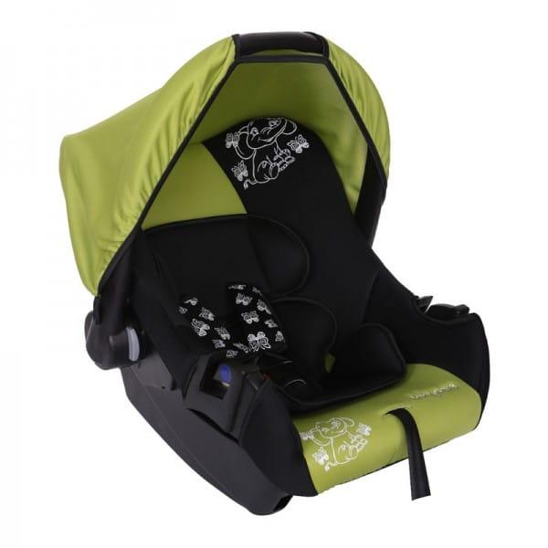 Детское автомобильное кресло Baby Care Мишка зеленый