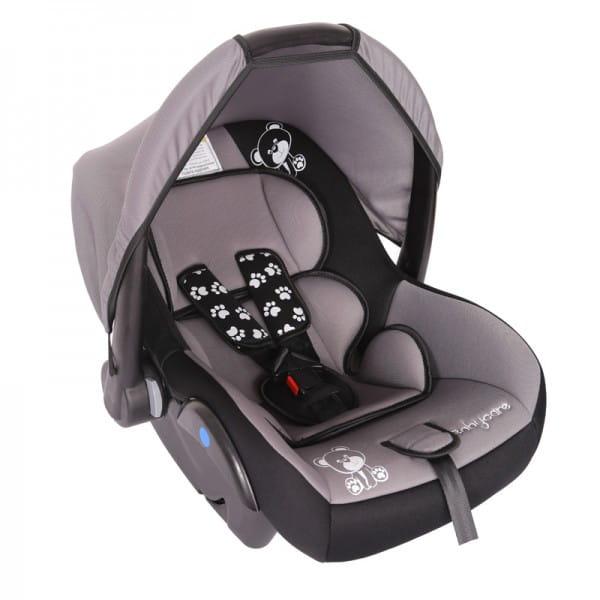Детское автомобильное кресло Baby Care Мишка серый