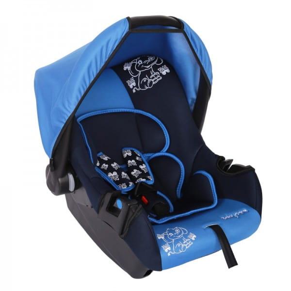 Детское автомобильное кресло Baby Care BC-322LUX Слоник синий