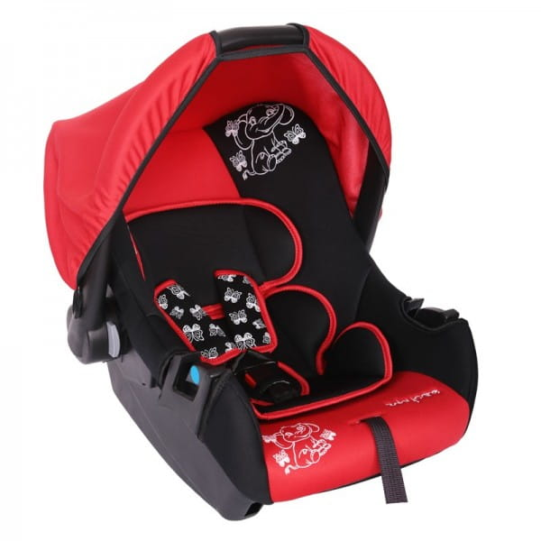 Детское автомобильное кресло Baby Care Слоник красный