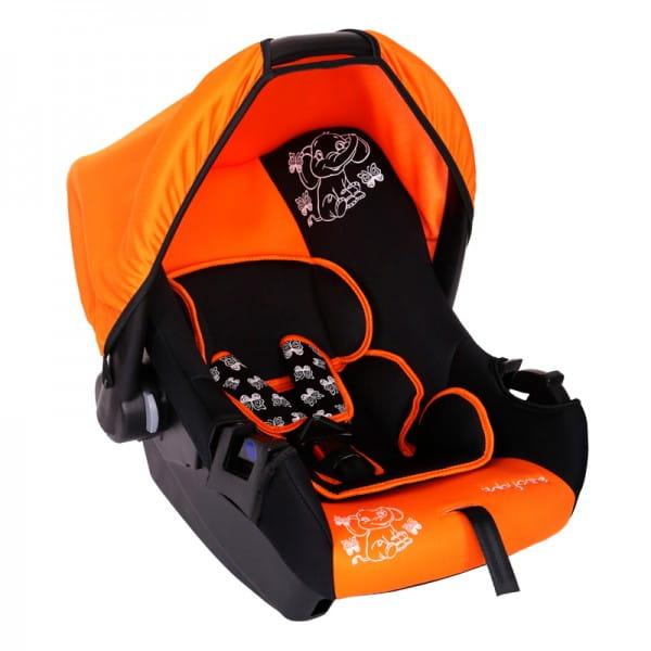 Детское автомобильное кресло Baby Care BC-322LUX Слоник оранжевый