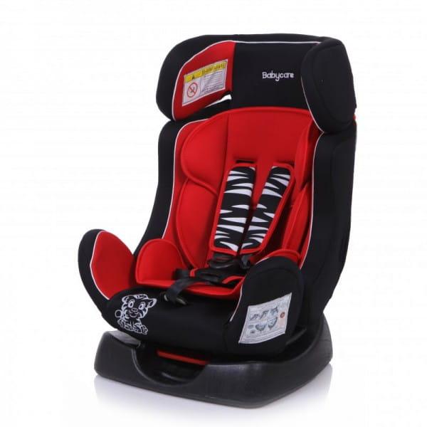 Детское автомобильное кресло Baby Care Тигренок красный