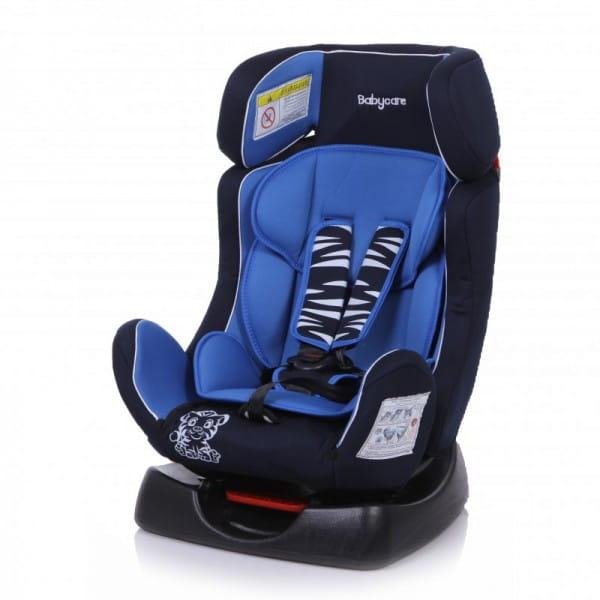 Детское автомобильное кресло Baby Care Тигренок синий