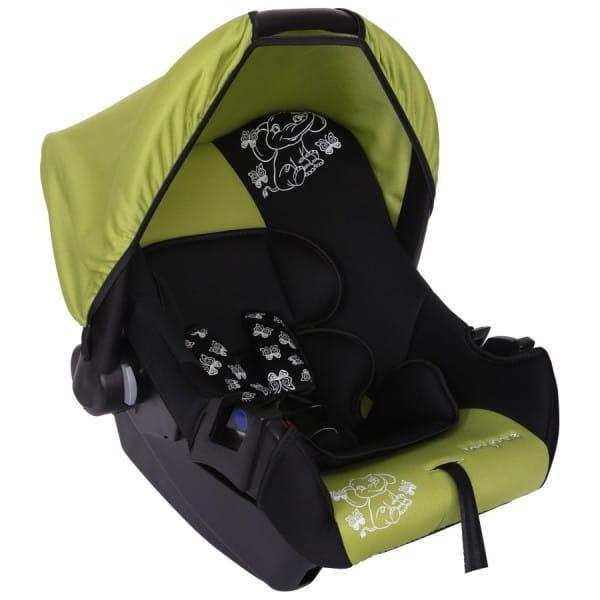 Детское автомобильное кресло Baby Care Слоник зеленый