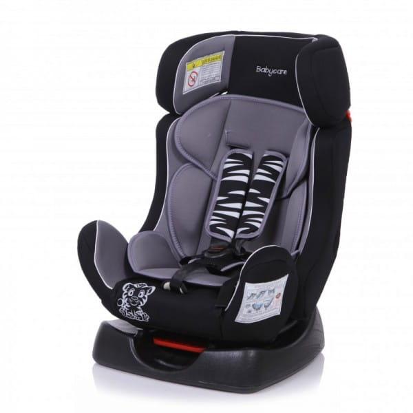Детское автомобильное кресло Baby Care Тигренок серый