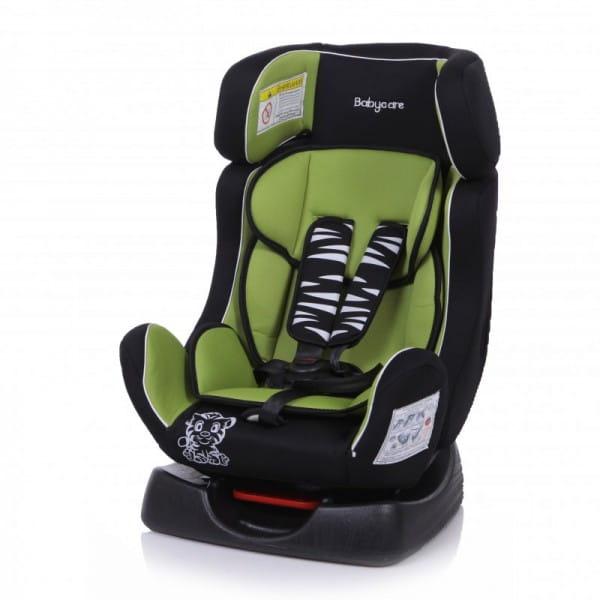 Детское автомобильное кресло Baby Care Тигренок зеленый