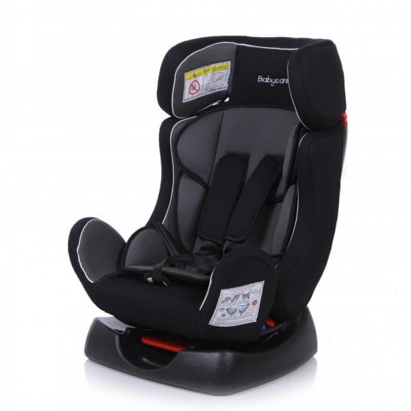 Детское автомобильное кресло Baby Care Тигренок серый карбон
