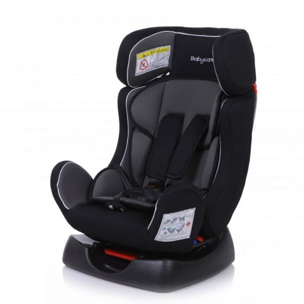 Детское автомобильное кресло Baby Care BC-719LUX Тигренок серый карбон