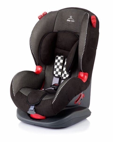 Автокресло Baby Care Eso Basic Premium Grey-Black