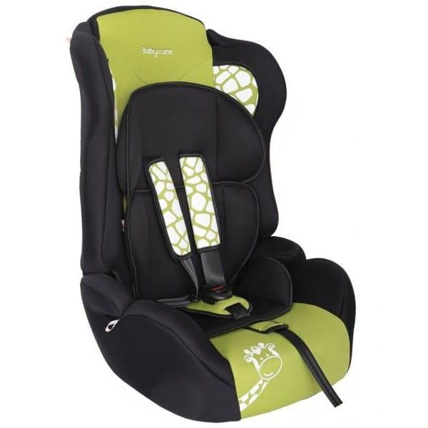 Детское автомобильное кресло Baby Care Люкс Жирафик зеленый
