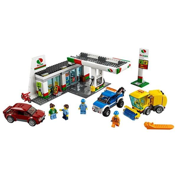 Конструктор Lego City Лего Сити Станция технического обслуживания