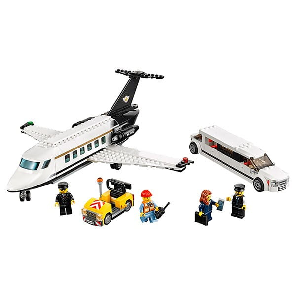Конструктор Lego City Лего Сити Служба аэропорта для VIP-клиентов