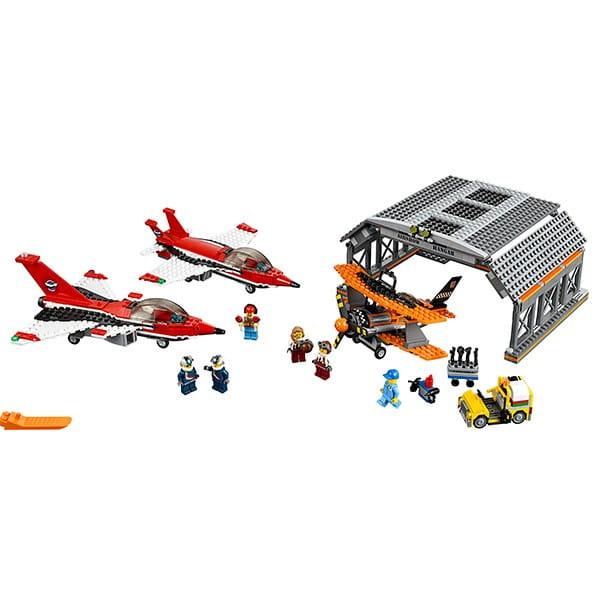 Конструктор Lego City Лего Сити Авиашоу
