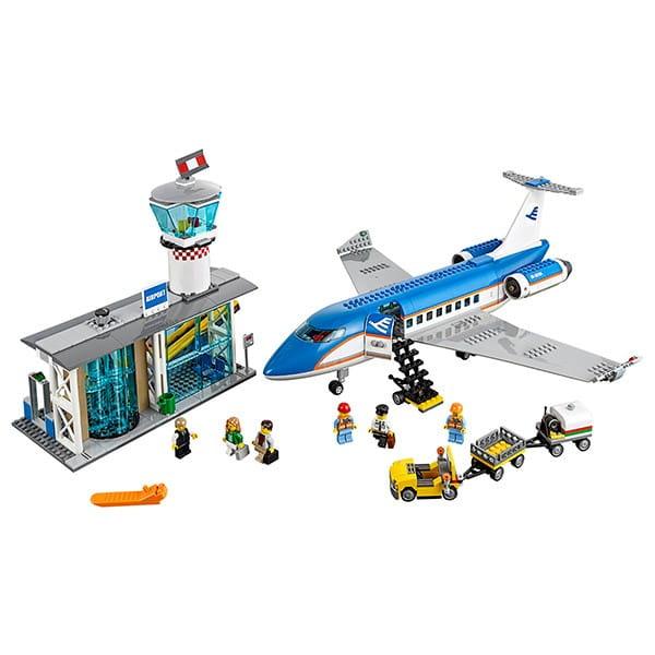 Купить Конструктор Lego City Лего Сити Пассажирский терминал аэропорта в интернет магазине игрушек и детских товаров