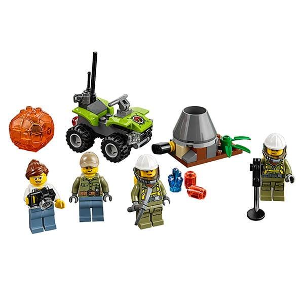 Конструктор Lego City Лего Сити Набор для начинающих - Исследователи вулканов