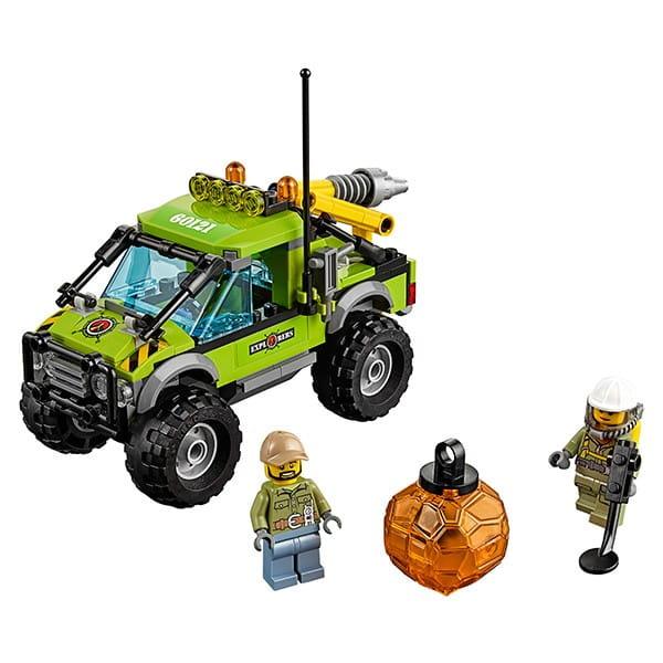 Конструктор Lego City Лего Сити Грузовик исследователей вулканов
