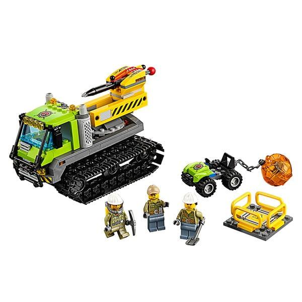 Конструктор Lego City Лего Сити Вездеход исследователей вулканов