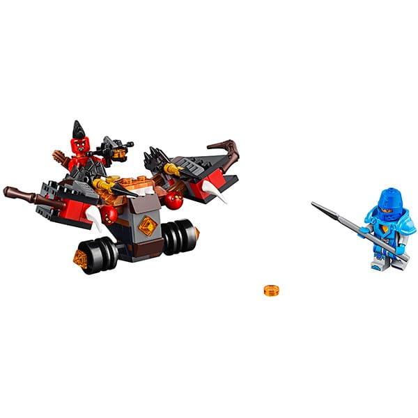 Купить Конструктор Lego Nexo Knights Лего Нексо Шаровая ракета в интернет магазине игрушек и детских товаров