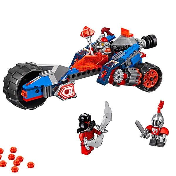 Купить Конструктор Lego Nexo Knights Лего Нексо Молниеносная машина Мэйси в интернет магазине игрушек и детских товаров