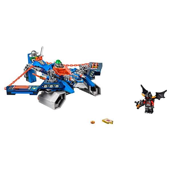 Купить Конструктор Lego Nexo Knights Лего Нексо Аэро-арбалет Аарона в интернет магазине игрушек и детских товаров