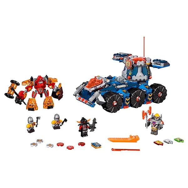 Купить Конструктор Lego Nexo Knights Лего Нексо Башенный тягач Акселя в интернет магазине игрушек и детских товаров