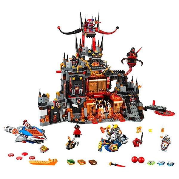 Купить Конструктор Lego Nexo Knights Лего Нексо Логово Джестро в интернет магазине игрушек и детских товаров