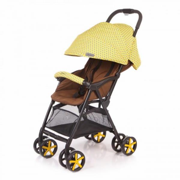 Купить Коляска прогулочная Jetem Carbon Yellow в интернет магазине игрушек и детских товаров
