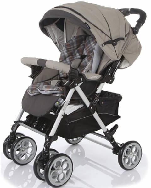 Купить Коляска прогулочная Jetem Cozy S-801 W Beige Check в интернет магазине игрушек и детских товаров