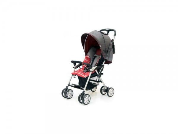 Купить Коляска прогулочная Jetem Elegant Dark Grey-Red (в полоску) в интернет магазине игрушек и детских товаров