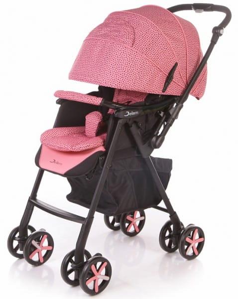 Купить Коляска прогулочная Jetem Graphite Pink в интернет магазине игрушек и детских товаров