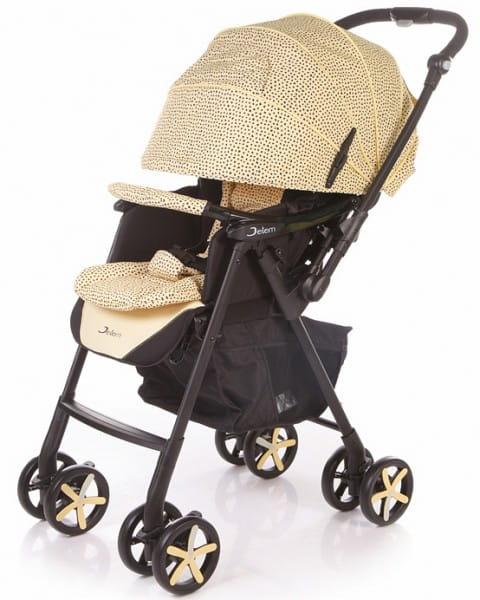 Купить Коляска прогулочная Jetem Graphite Beige в интернет магазине игрушек и детских товаров